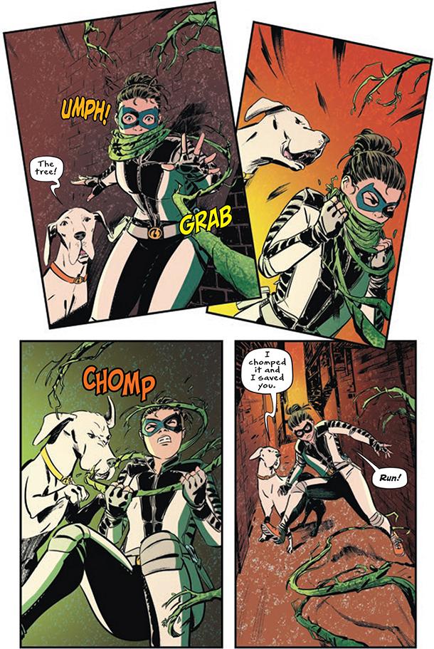 Whistle: A New Gotham City Hero - 6