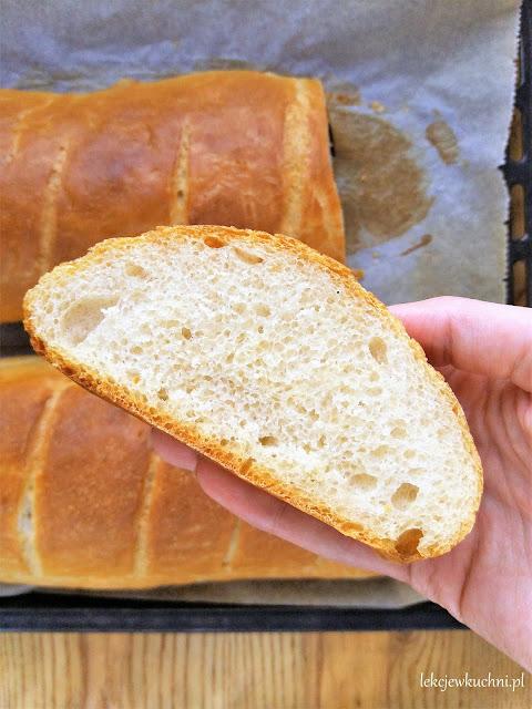 Chrupiący chleb pszenny na drożdżach (bez formy) / Crusty Yeast Bread