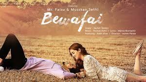 Bewafai Lyrics in English :- Mr. Faisu   Sachet Tandon