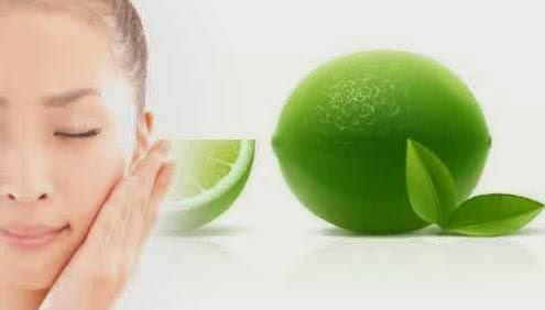 Memutihkan wajah menggunakan jeruk nipis
