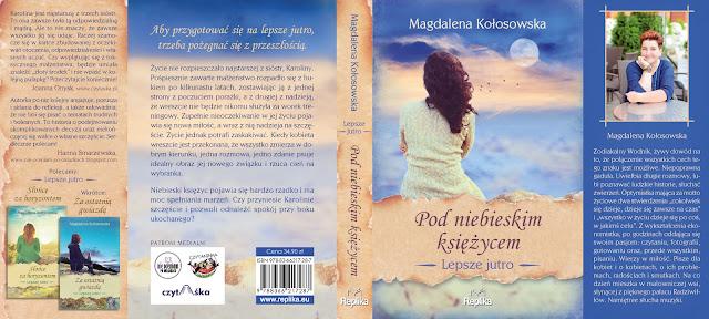 """Zapowiedź """"Pod niebieskim księżycem"""" Magdalena Kołosowska"""