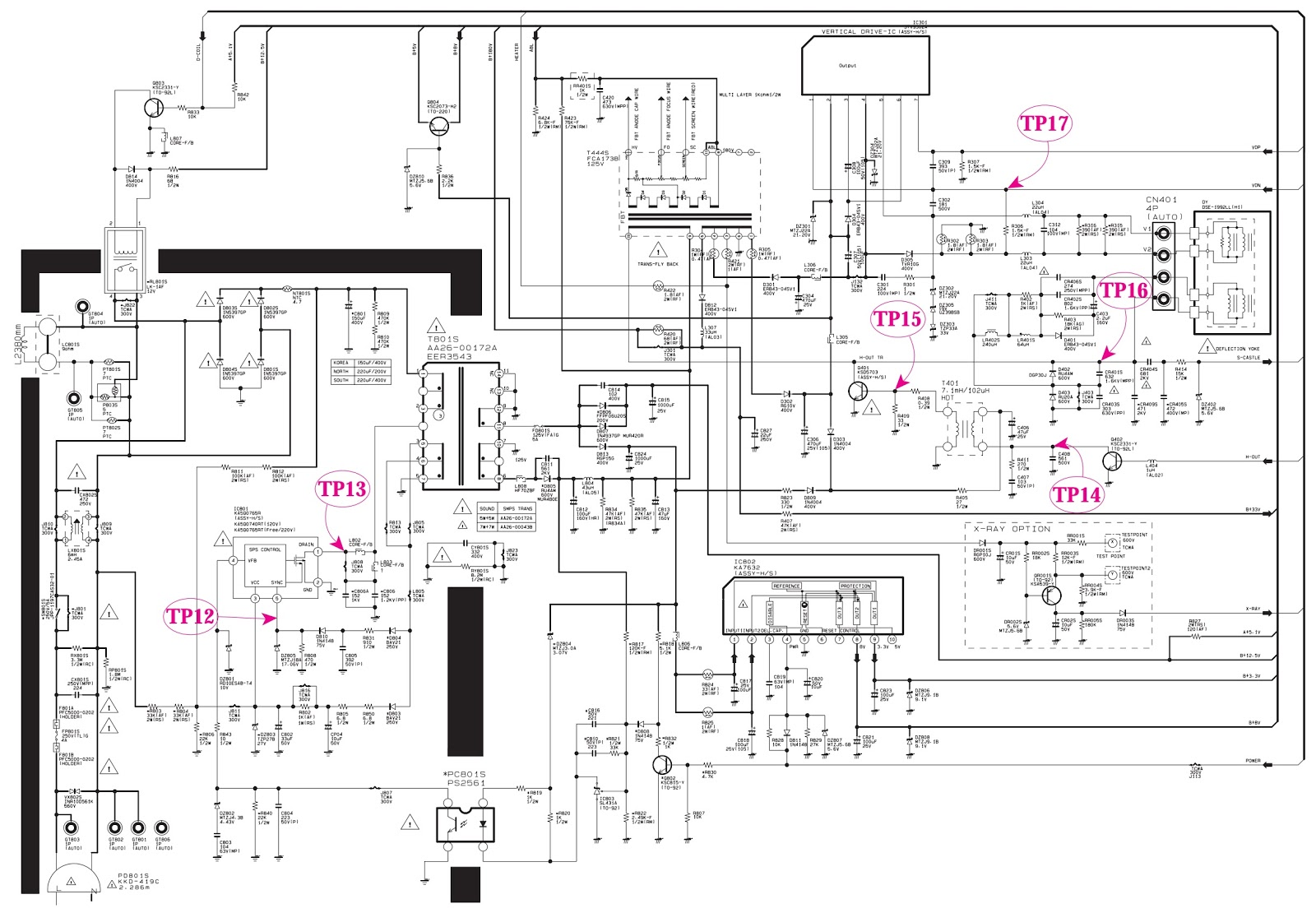 samsung fridge wiring diagram