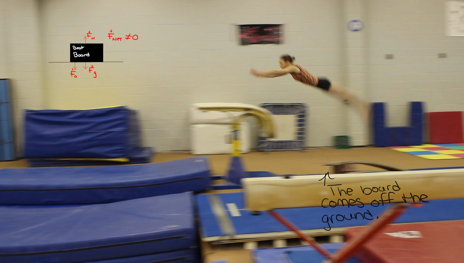The Physics Of The Gymnastics Vault Newton S Laws Of Motion Explained
