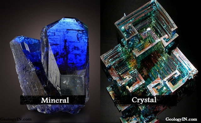 What Is the Difference Between Minerals and Crystals?