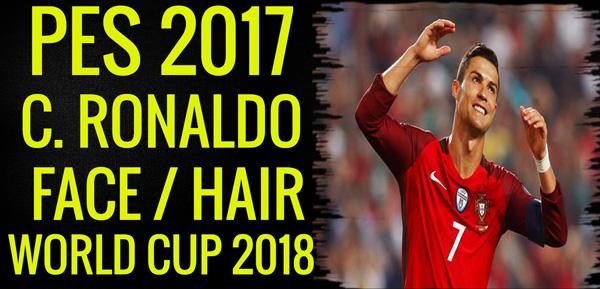 PES 2017 Cristiano Ronaldo Face World Cup 2018
