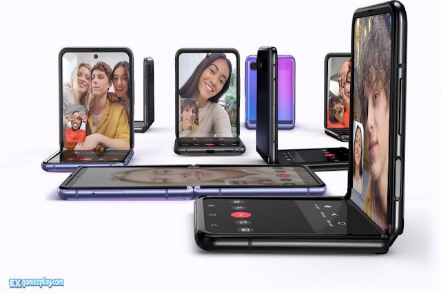Samsung Galaxy Z Flip Face Unlock