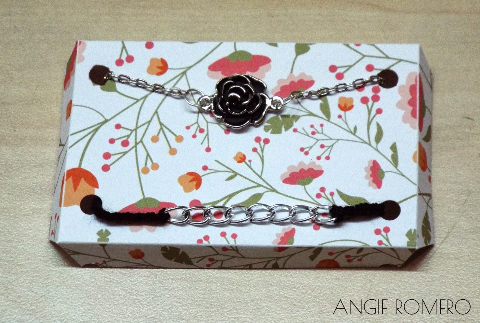 Pulseras con caja decorada diy ideas para regalar a - Regalos faciles y rapidos ...