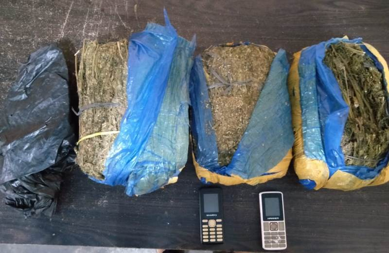 Polres Madina Berhasil Bekuk Tiga Pelaku Tindak Pidana Narkotika Jenis Ganja 3,3kg