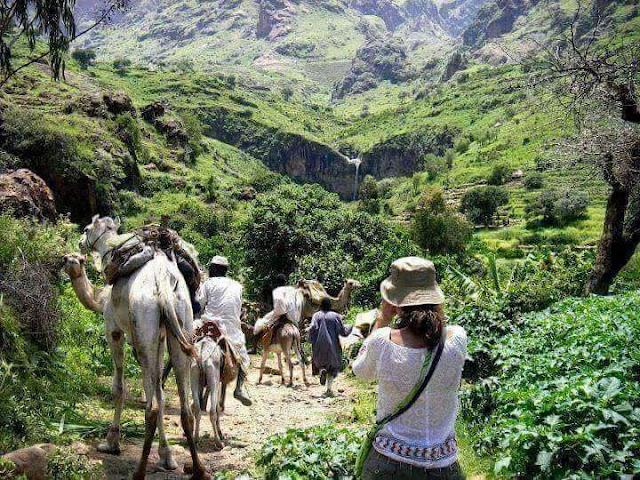 صور جميلة من منطقة جبل مرة غرب السودان