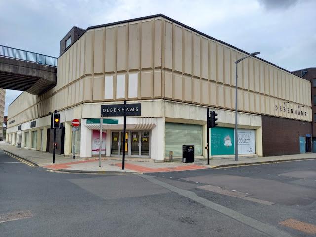 Debenhams in Stockport