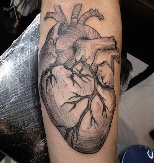 50 Incredible Heart Tattoos for Men and Women (2019)