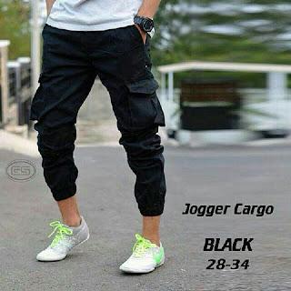 celana jogger cargo, celana jogger, celana cargo