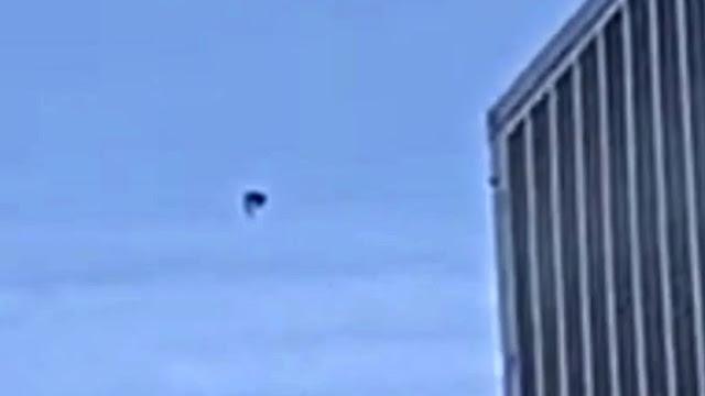 OVNI negro pasa sobre Las Vegas, Nevada, el 23 de febrero de 2021