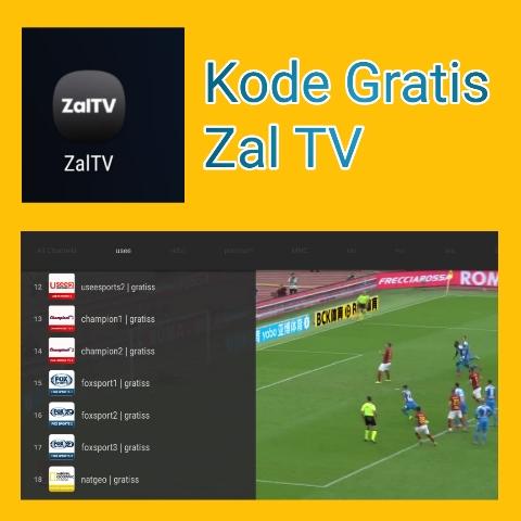 Kode Zal TV Untuk Streaming