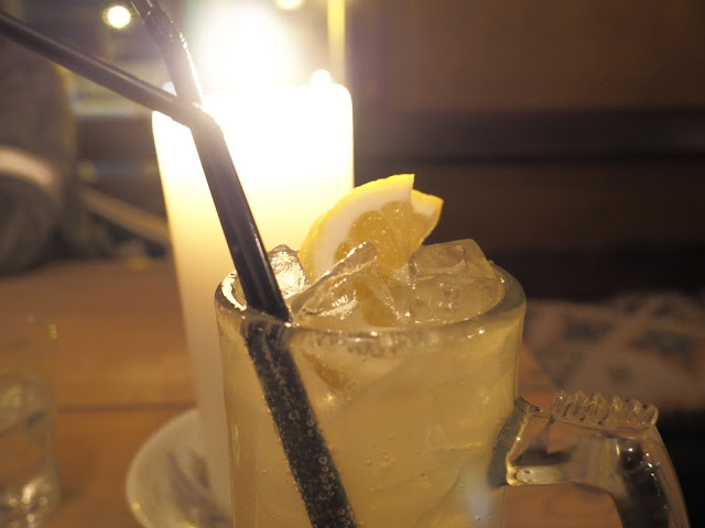 sherbert lemonade, juno lounge cardiff