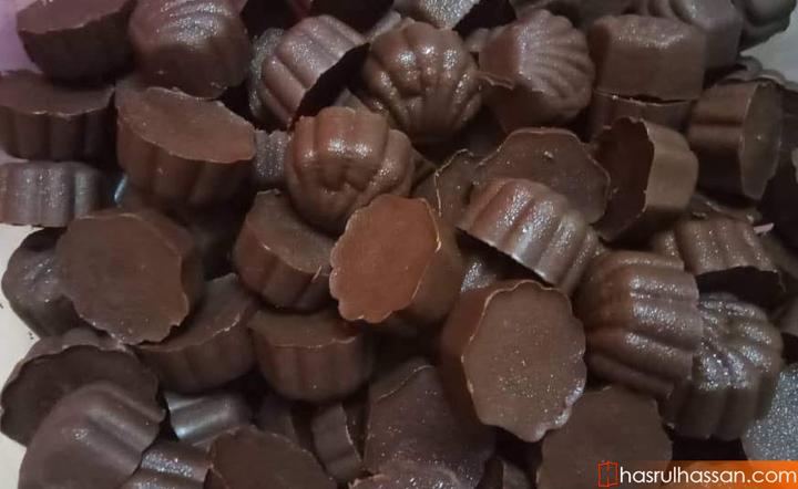 resepi buat coklat homemade