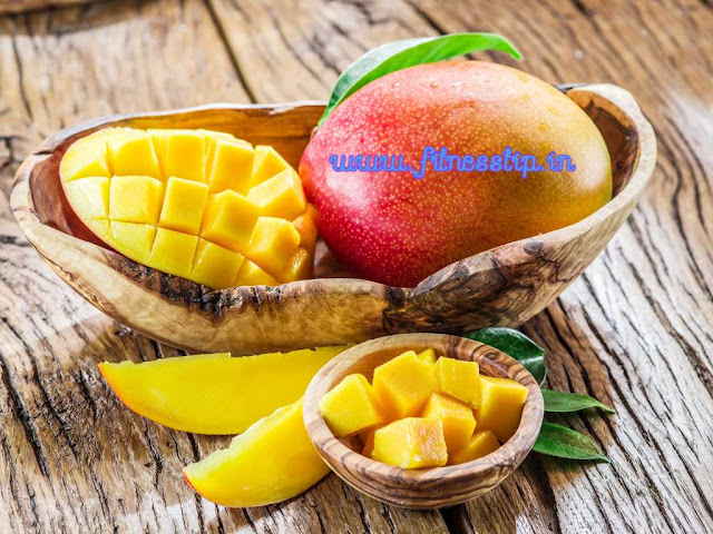 Health Benefits of eating and uses of mango with its vitamins