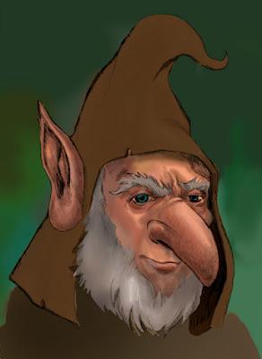 Woodland Goblin WIP by Jeff Ward