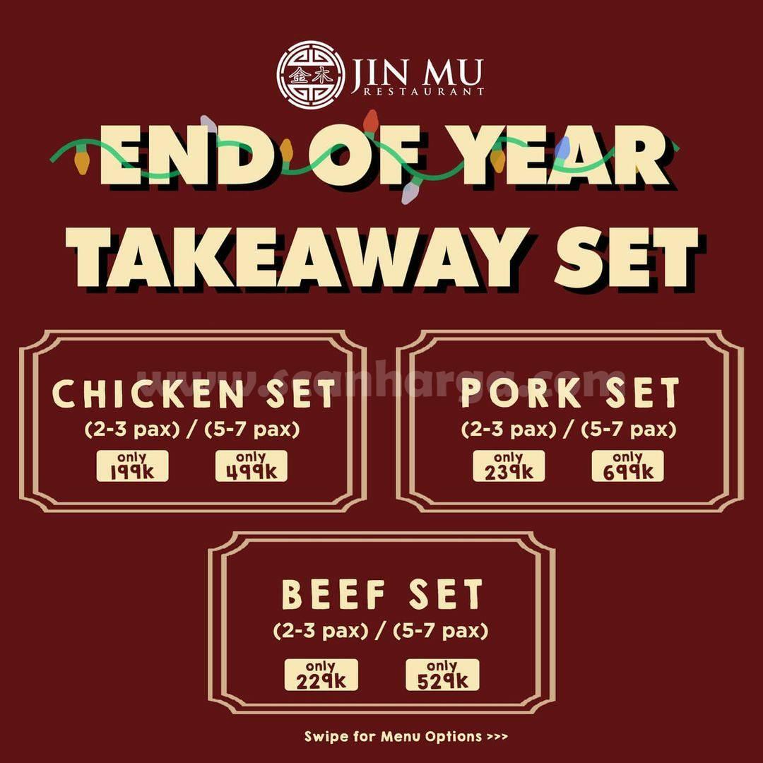 JIN MU End of Year Takeaway Set – Harga mulai dari Rp. 199.000,-