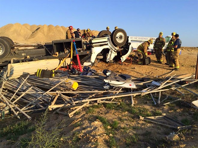 kern county highway 178 semi truck crash fatality miguel reyes-flores