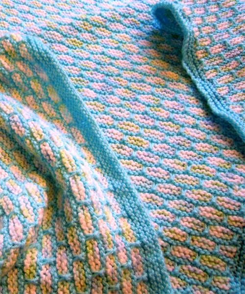 Woven Look Blanket - Free Pattern
