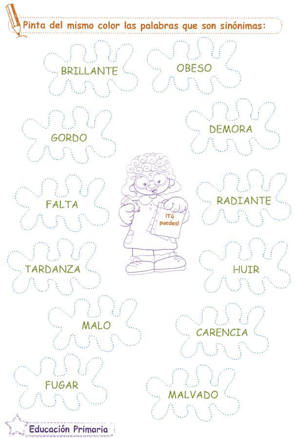 sinonimos y antonimos en ingles pdf