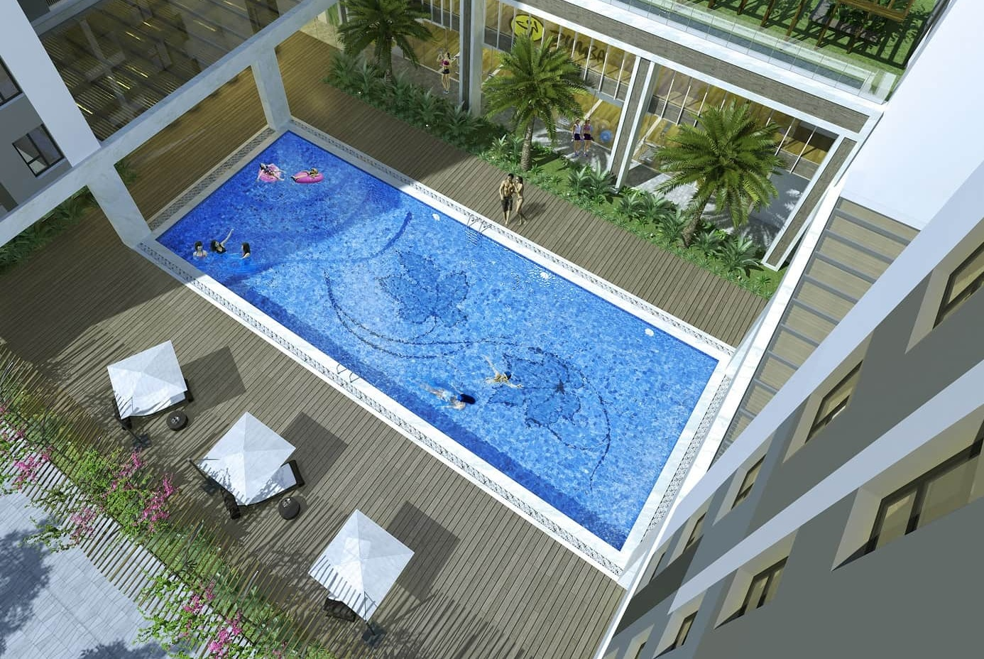 Bể bơi Booyoung Mỗ Lao Hà Đông