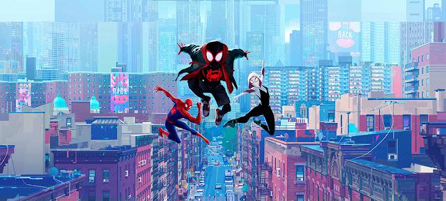 Imagen promocional de la película Spider-Man: Un nuevo universo
