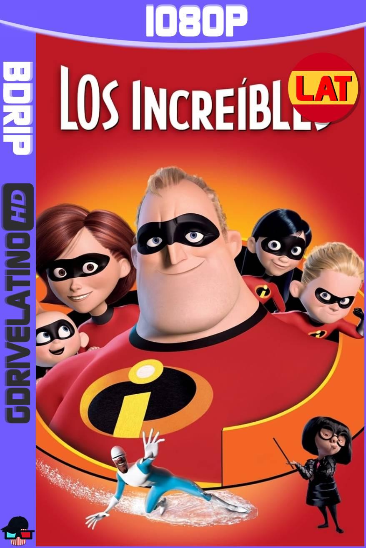 Los Increíbles (2004) BDRip 1080p Latino-Ingles MKV