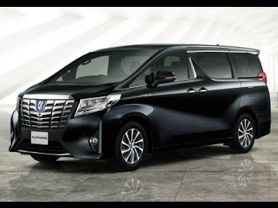 New 2016 Toyota Alphard black color