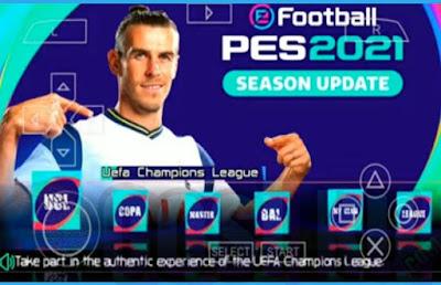 PES CHELITO V8 2021 Iso PPSSPP Update Full Transfer & Jersey Klub