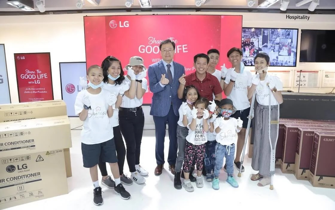 LG Shares the Good Life with Shelter of Hope