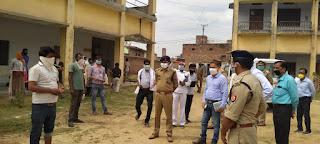 कालपी कालेज में क्वारेन्टीन किये गये व्यक्तियों को चेक कर व्यवस्थाओं का निरीक्षण किया -अपर पुलिस महानिदेशक कानपुर जोन In Kalpi College, inspected the quarantined persons and inspected the arrangements - now the Director General of Police, Kanpur Zone     संवाददाता, Journalist Anil Prabhakar.                 www.upviral24.in