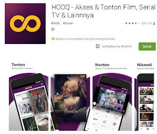 Cara menggunakan Hooq telkomsel