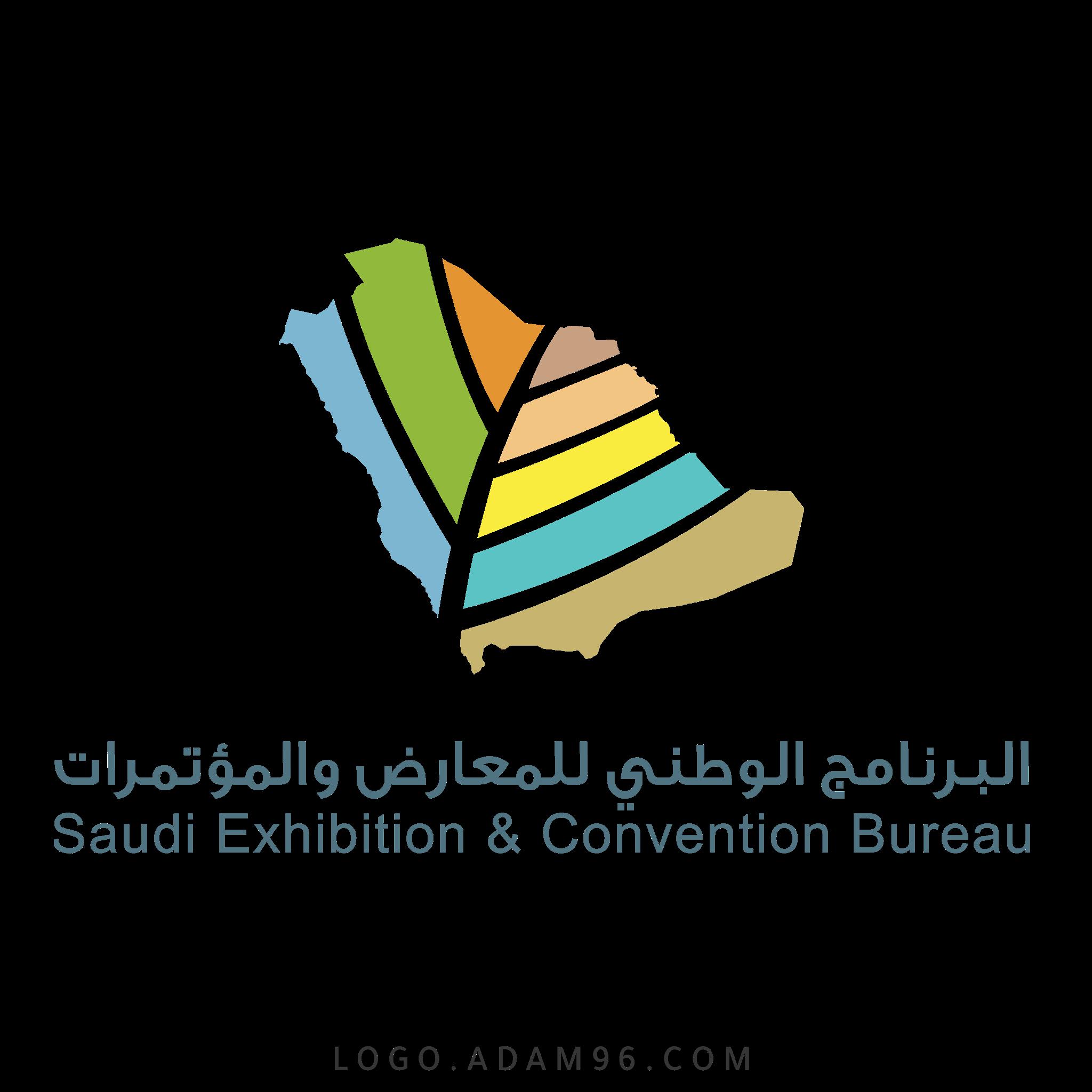تحميل شعار البرنامج الوطني للمعارض والمؤتمرات لوجو رسمي عالي الجودة PNG