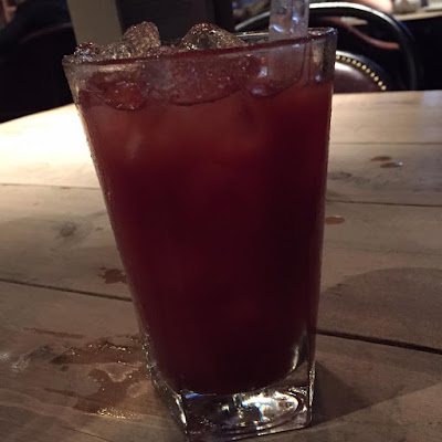 Motel One, Pleased to Meet You & Osaka | Date night in Newcastle - Red Snapper Cocktail