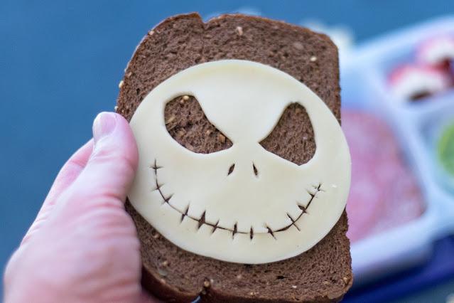 The Nightmare Before Christmas Jack Skellington Food Art Lunch Recipe
