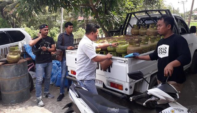 Polres Bone Tertibkan Agen/Pangkalan 'Nakal' Gas LPG 3 Kg