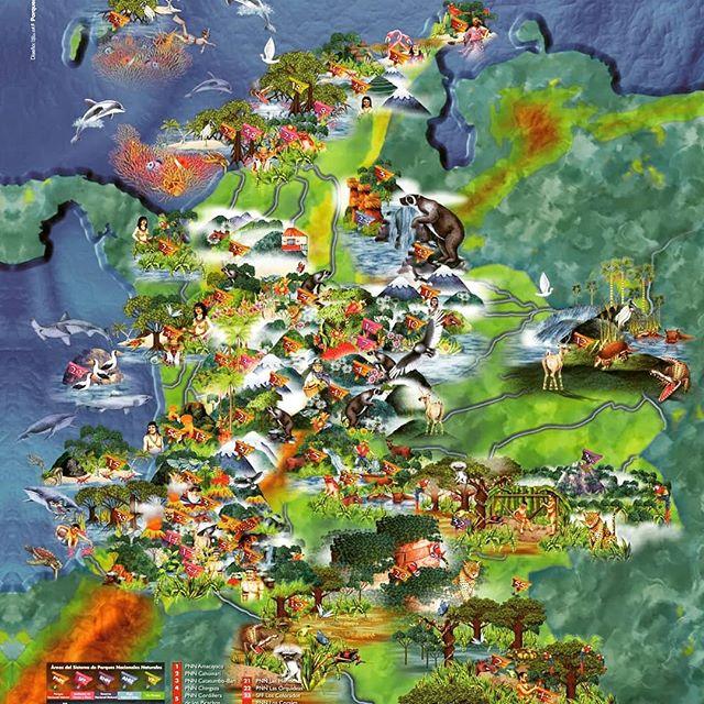 Mapas de los recursos naturales de Colombia
