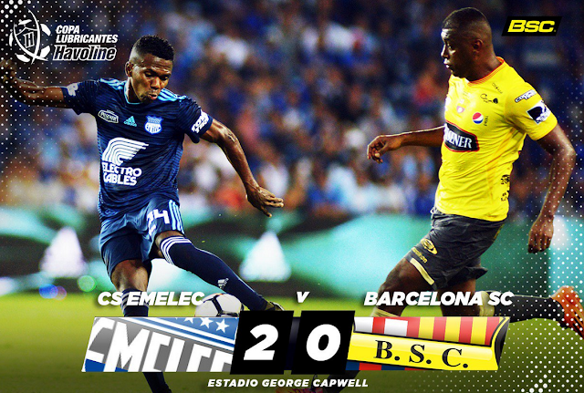 resultado partido emelec vs barcelona