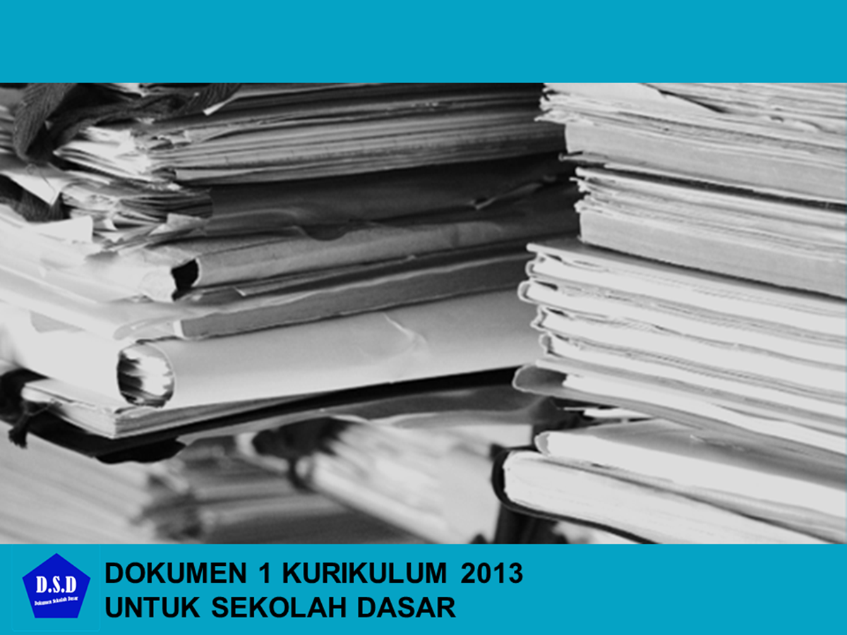 dokumen 1 kurikulum 2013 sd