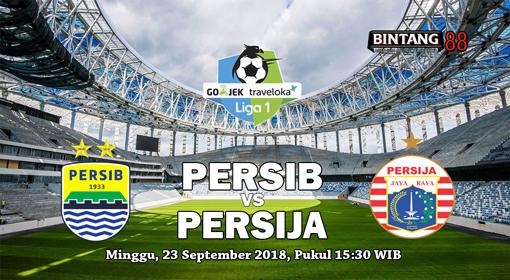 Prediksi Persib Bandung vs Persija Jakarta 23 September 2018