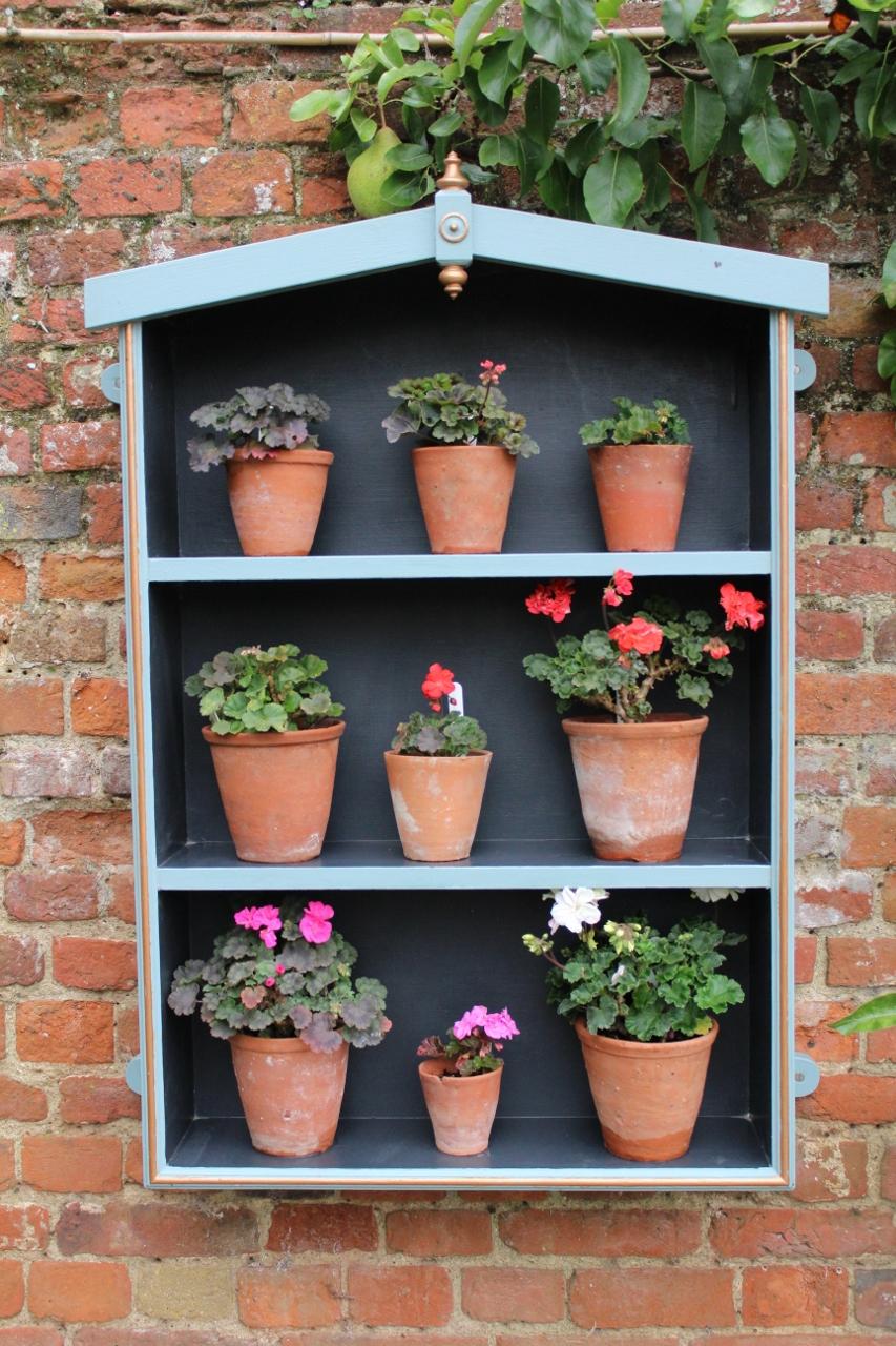 Flowerpots shelves