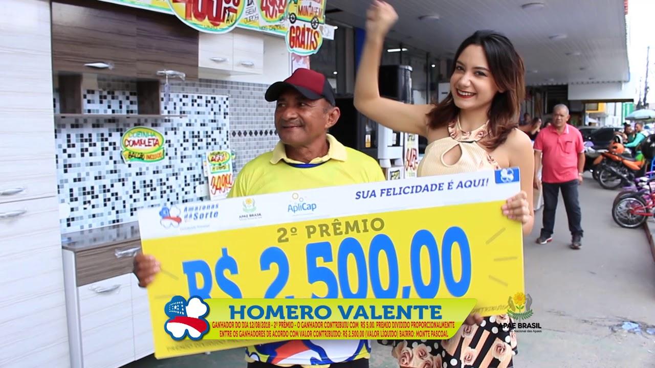 Ganhador do Amazonas dá Sorte