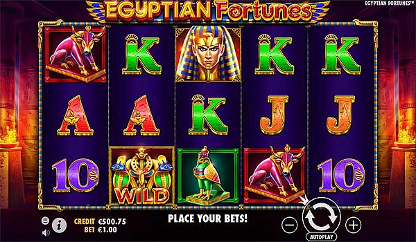 Main Gratis Slot Indonesia - Egyptian Fortunes (Pragmatic Play)