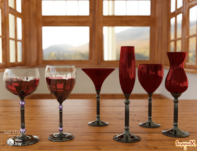 Glassware Collection for Iray Vol. 2