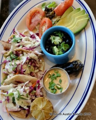 Liberty Kitchen fish tacos