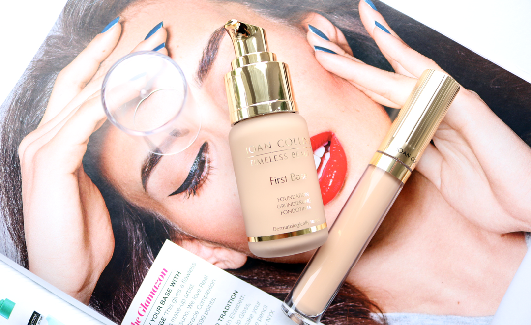 Joan Collins First Base Foundation & Concealer review