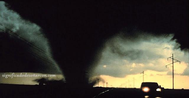 soñar con tornados
