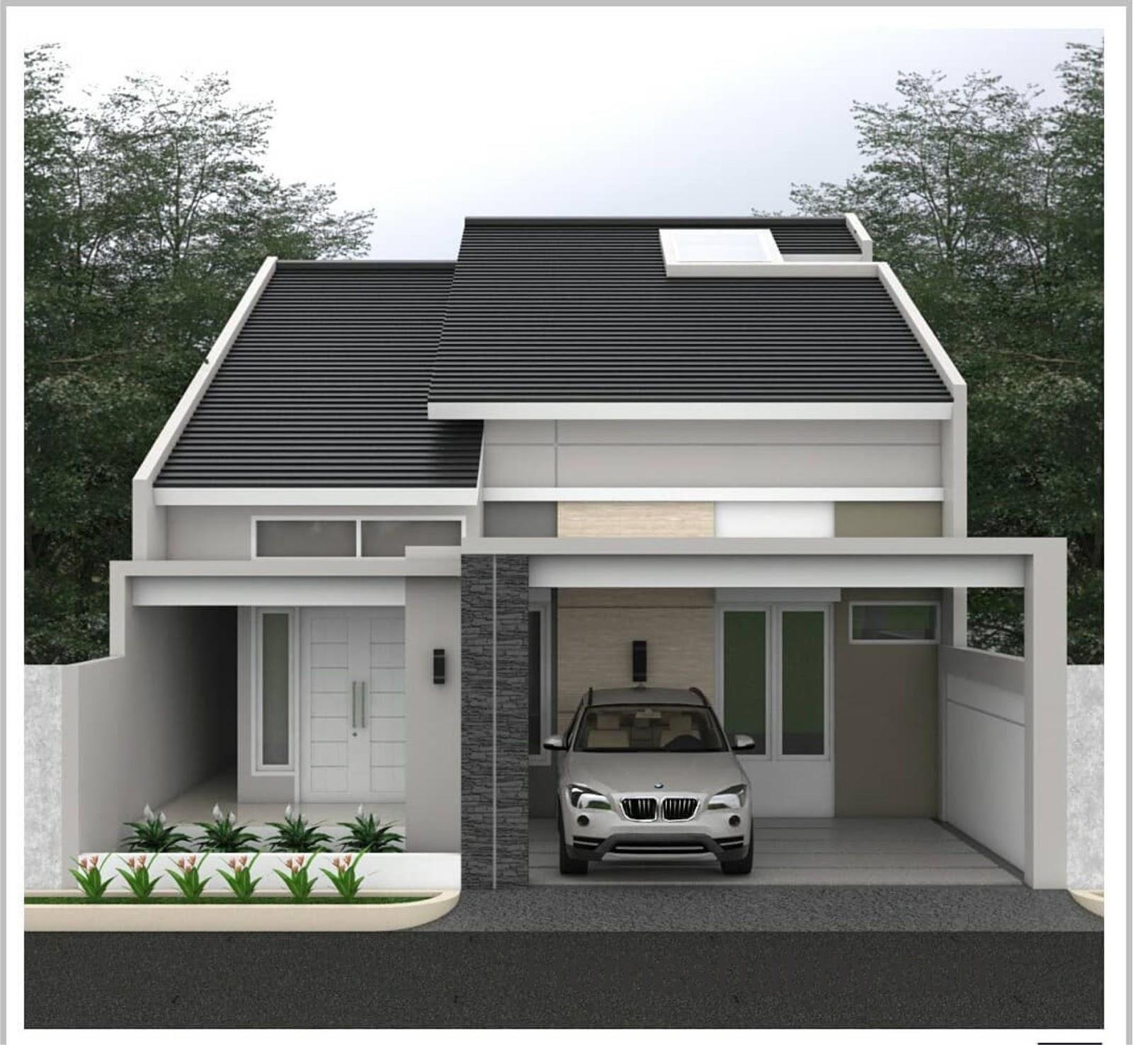 Desain dan Denah Rumah Ukuran 9 x 18 M dengan Ventilasi ...